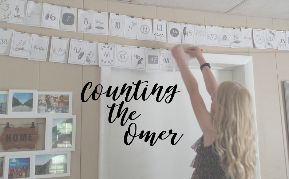 Counting the Omer   A Torah Home is a Home That Counts   TorahHome.com