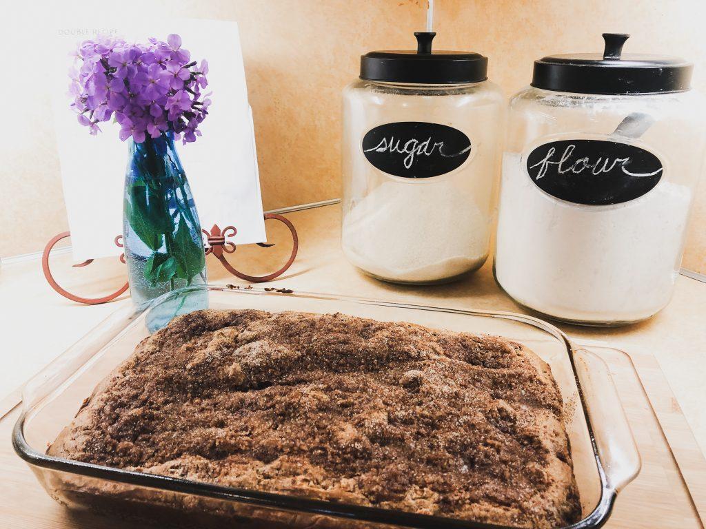 Rhubarb Breakfast Cake | TorahHome.com