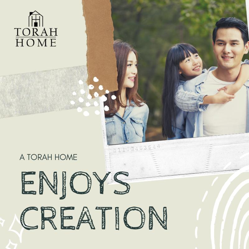 A Torah Home is a Home That Enjoys Creation | TorahHome.com