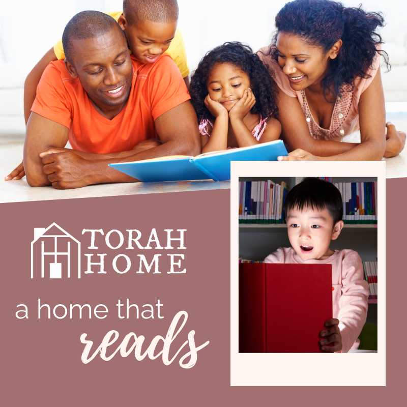 A Torah Home Is a Home That Reads